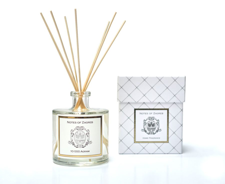 Notes of Zagreb -10 000 Agram reed diffuser