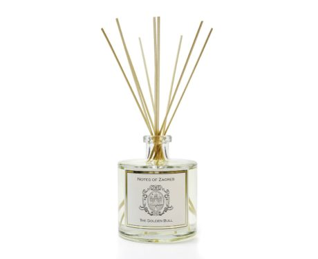Notes-of-Zagreb-home-fragrance-reed-diffuser-The-Golden-Bull-scent.